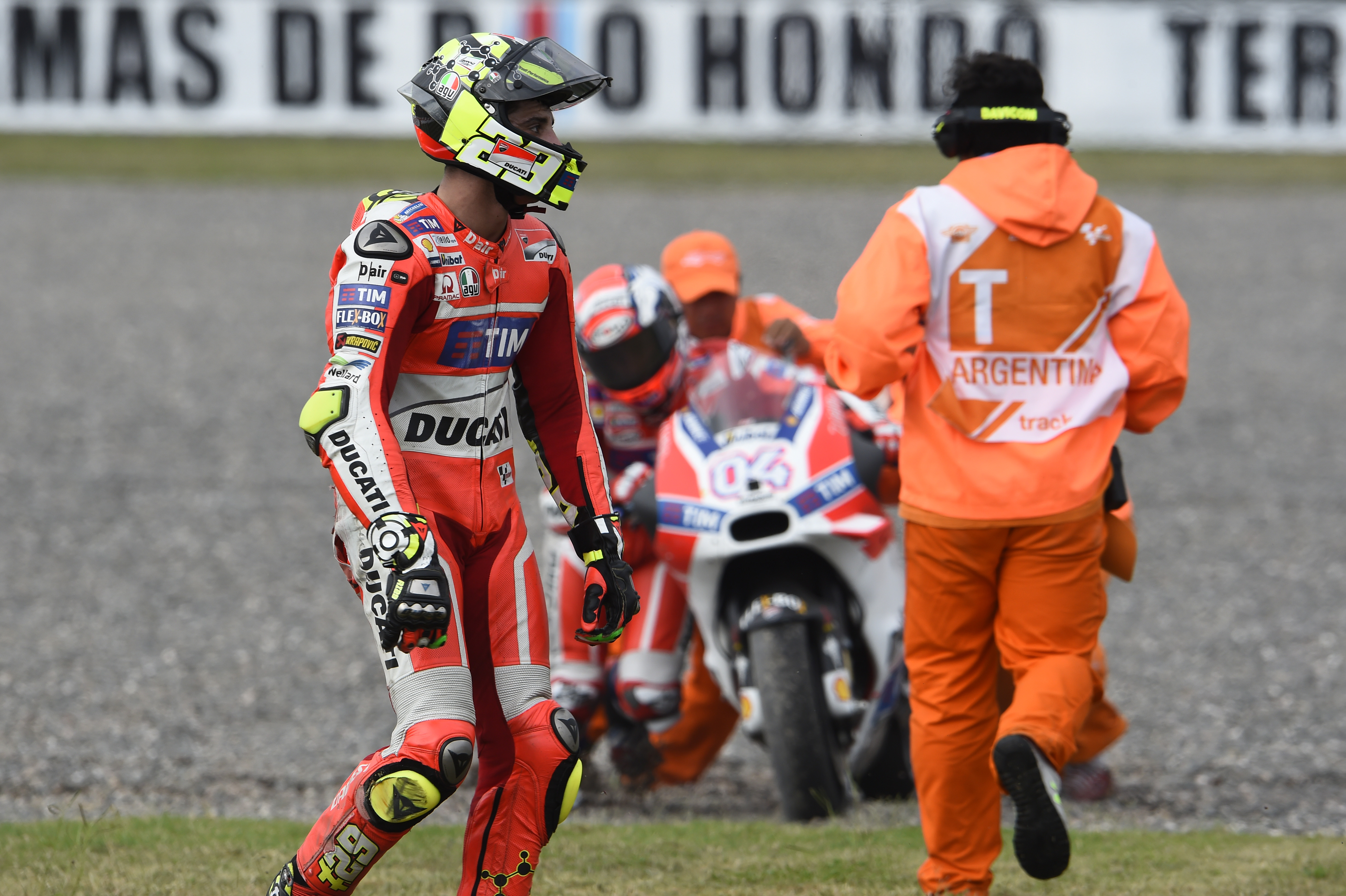 Dovizioso blames a 'complicated weekend'