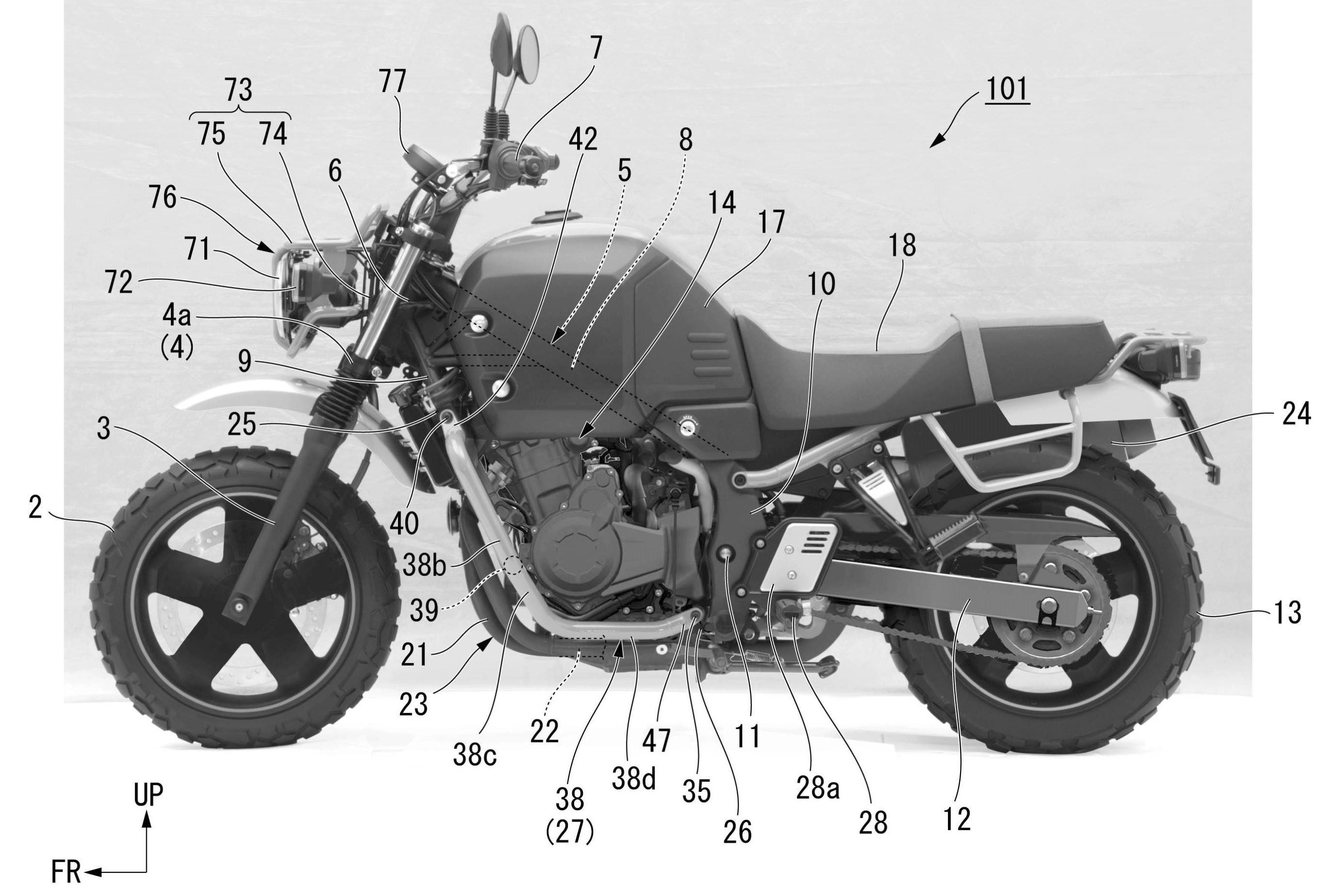 Honda patent suggests Bulldog could reach production