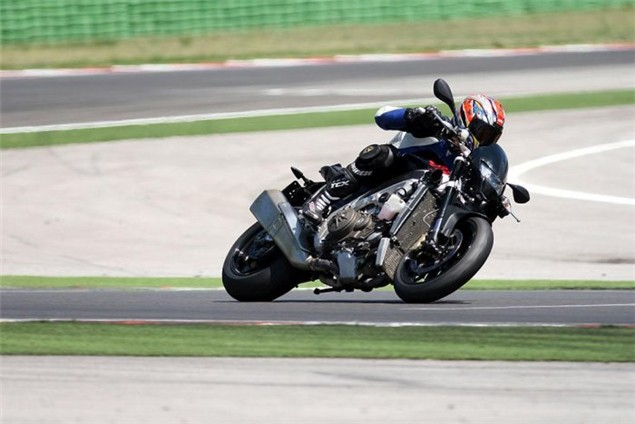 First Look: 2010 Aprilia RSV4 naked