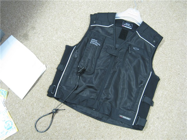 Hit-Air airbag jacket - just arrived, not yet deployed