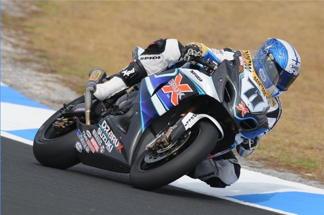 Kagayama fastest in 2010 BSB test