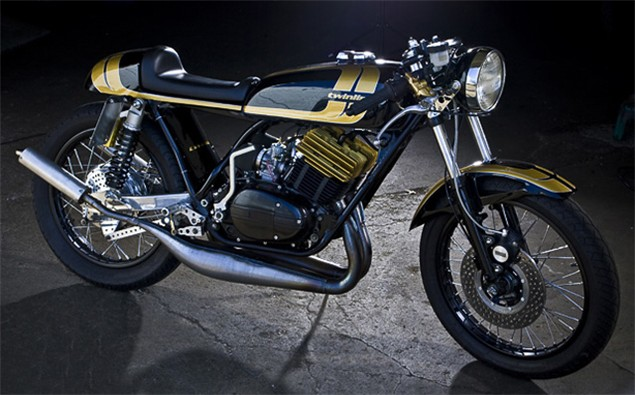 Project Goldhead: Yamaha RD350