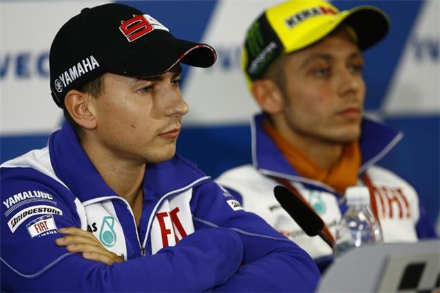 Lorenzo warns Rossi over Yamaha contract