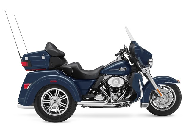 Harley trikes built in-house from 2011