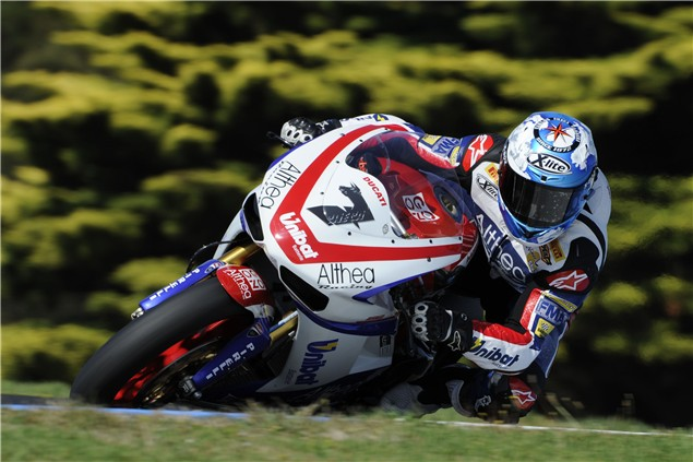 Phillip Island Test: Day 1: Session 2