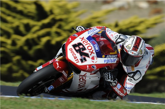 Phillip Island Test: Day 2: Session 1