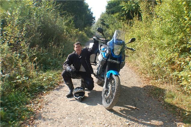 UK biker raises £25,000 while circumnavigating Africa