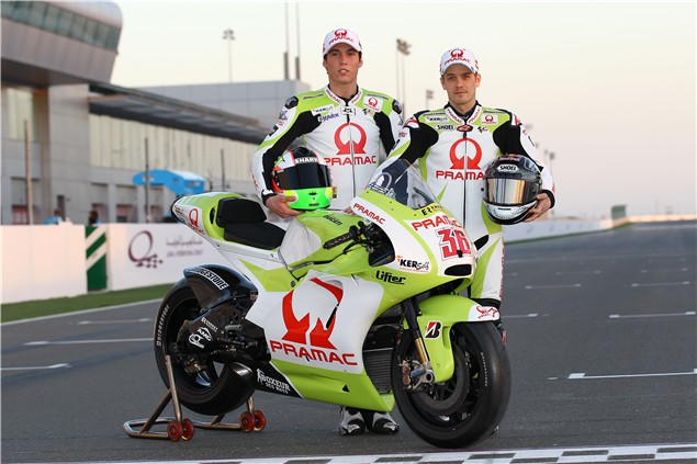 Gallery: Pramac Ducati MotoGP unveil eco-friendly paintjob