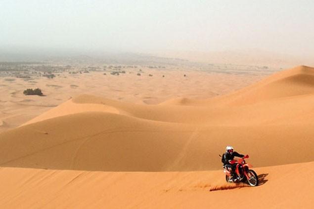 Ride Up Sand Dunes