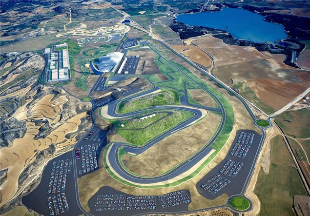 Motorland Aragon on schedule for September finish