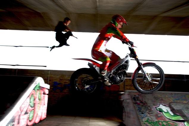 Indoor trials Vs. Parkour