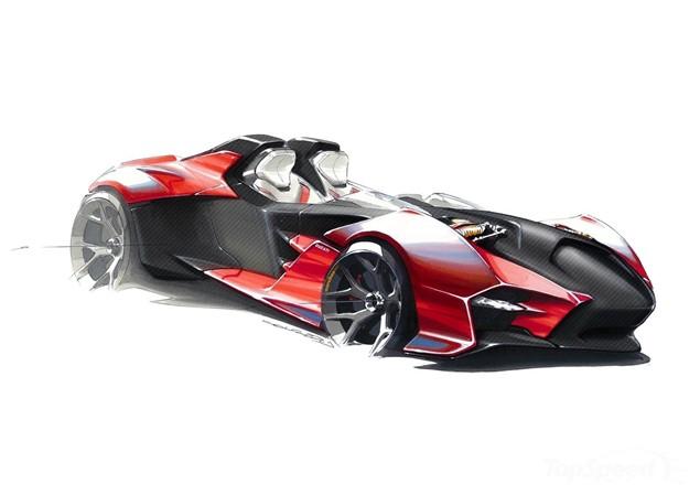 A sportscar from Ducati?