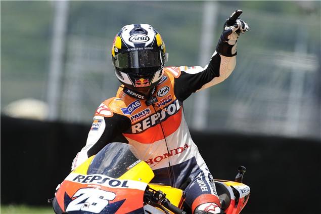 2010 German MotoGP Race Results