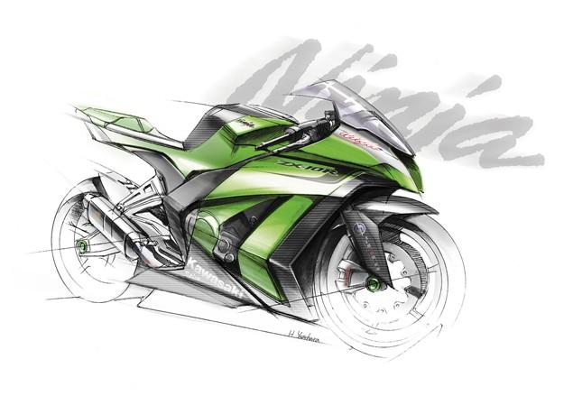 2011 Kawasaki ZX-10R teaser