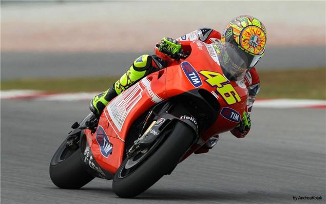 Rossi to test Ducati GP10 at Valencia
