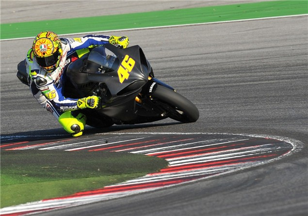 Rossi: Faster than Toseland slower than Crutchlow