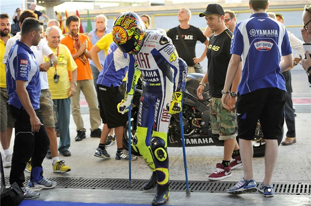 Rossi confirms German MotoGP