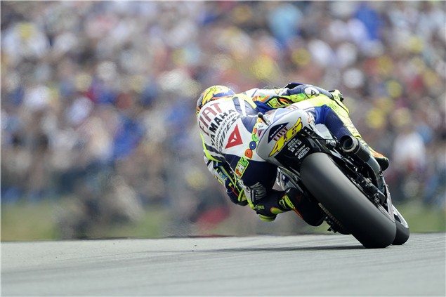 Rossi debuts gyroscopic onboard camera