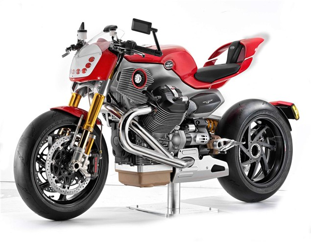 Moto Guzzi V12 concept - new pictures