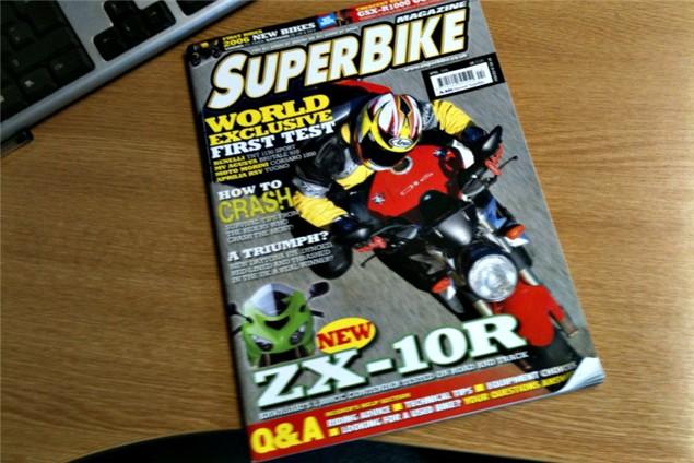 For Sale: Superbike magazine