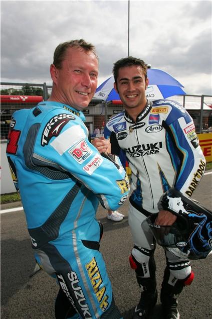 Bautista: Brands Hatch: Suzuki GSV-R800