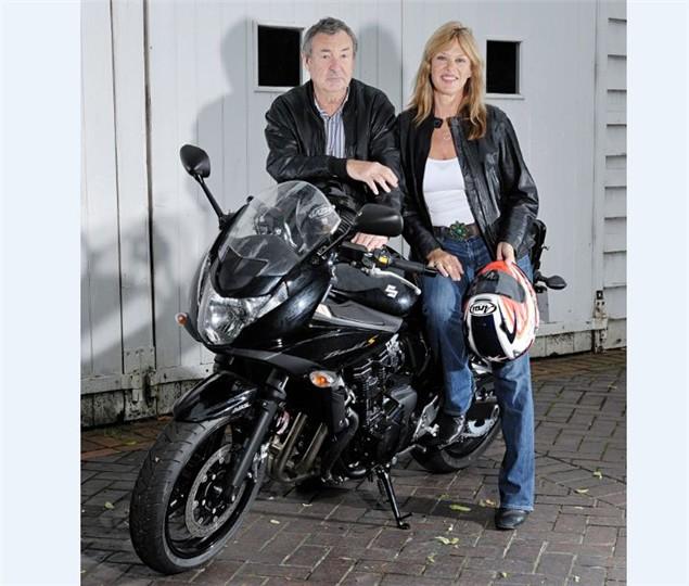 Pink Floyd drummer plumps for Bandit 650