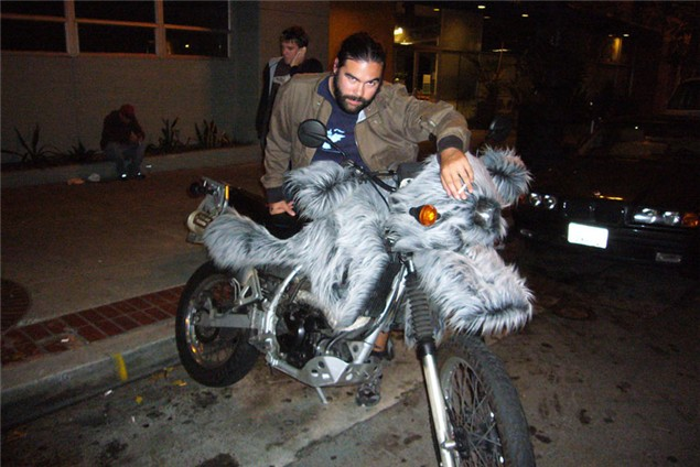 Caption That: Furry ride