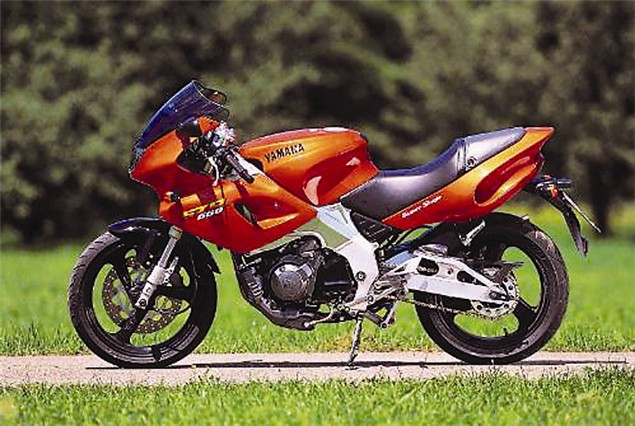 To The Crusher - Yamaha SZR660