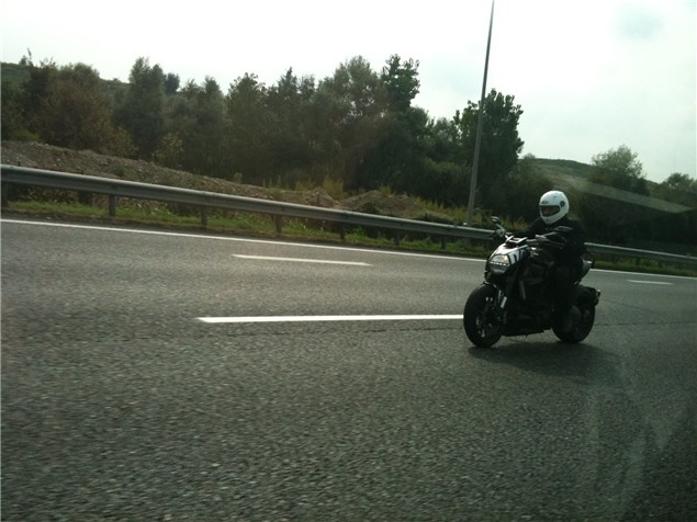 Spy shots: Ducati Diavel muscle cruiser