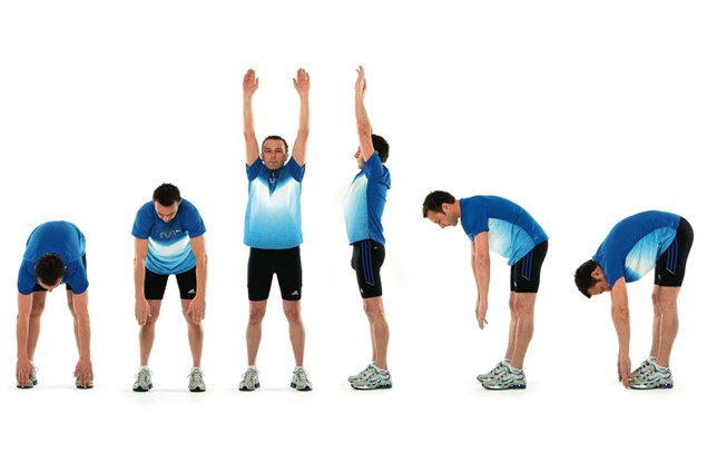 Stretch like a racer before your trackday