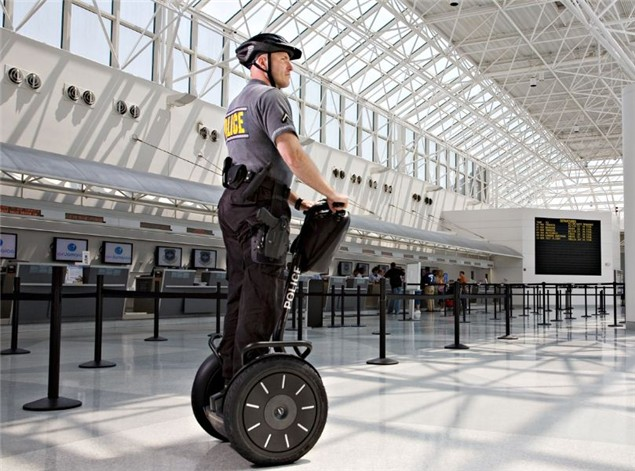 Segway boss killed while riding company machine