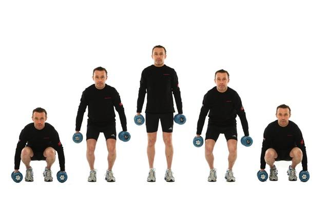 Train like a racer: Lower Body Strength