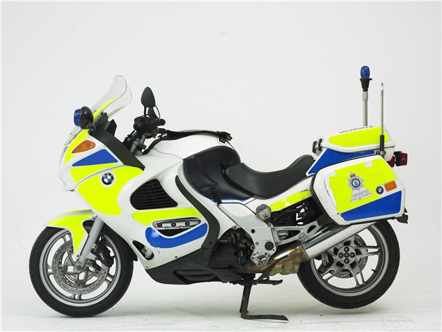 Fit for purpose: Police BMW K1200RS