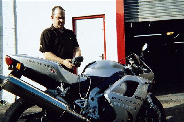 Living with a 2001 Triumph Daytona 955i