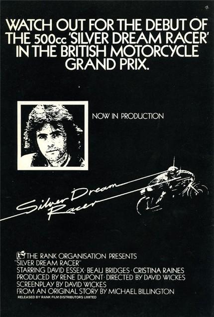 Grant Leonard stars in Silver Dream Racer