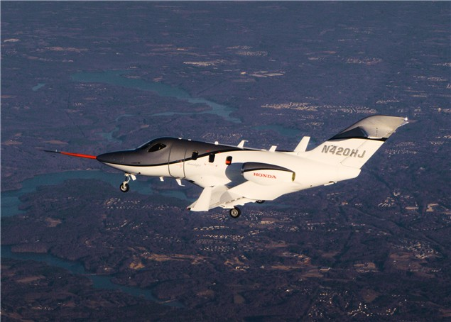 Hondajet deliveries expected in 2012