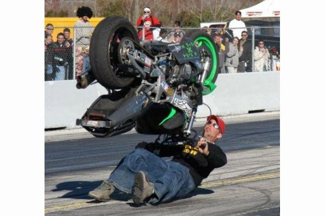 Caption That: Motorcycle B-boy