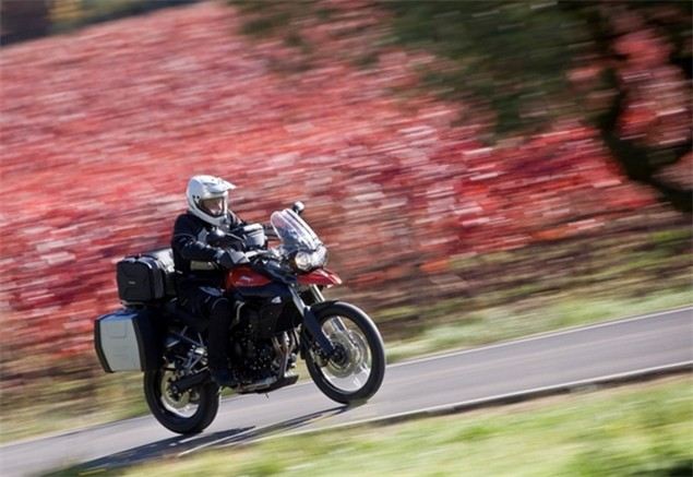 Triumph launch Tiger 800XC adventure tours