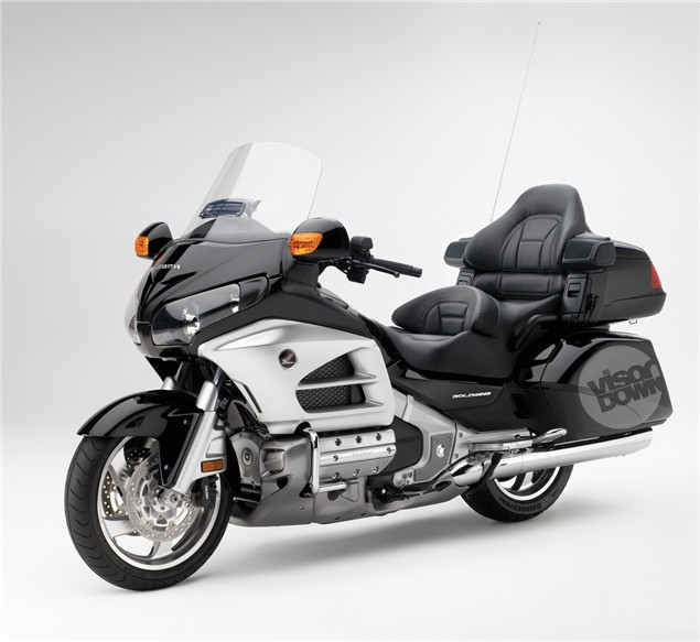 Blimey! It's the 2012 Goldwing!