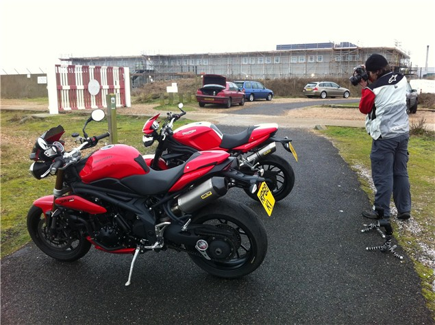 2011 Triumph Speed Triple - Long term test bike