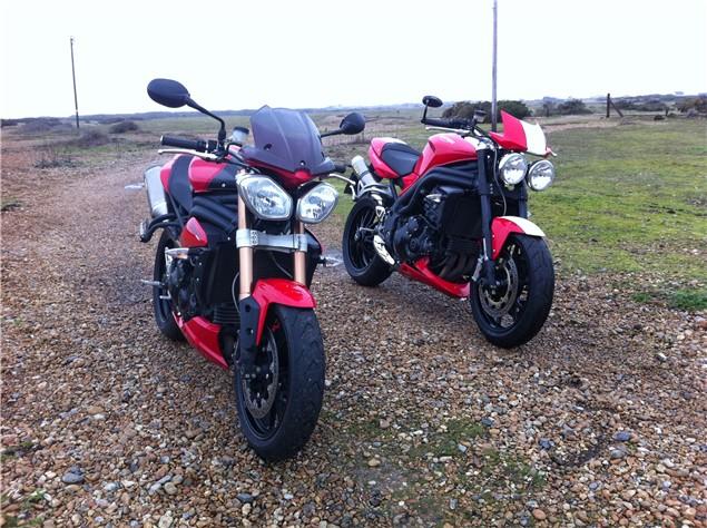 2011 Triumph Speed Triple - Long term test bike