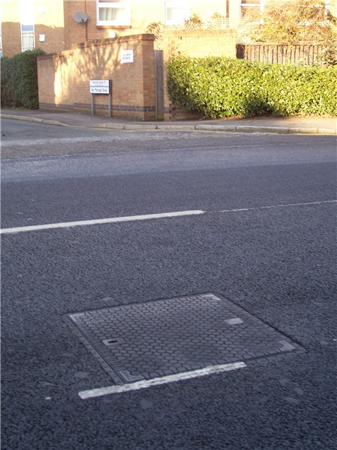 The end to slippery manhole covers?