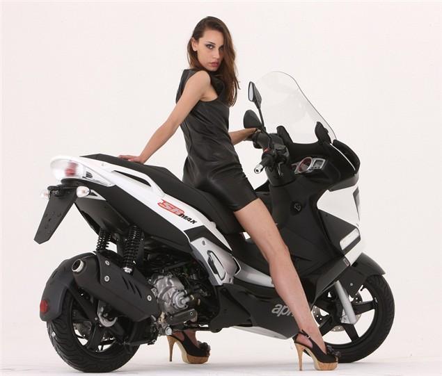 New Scooter: Aprilia SR Max