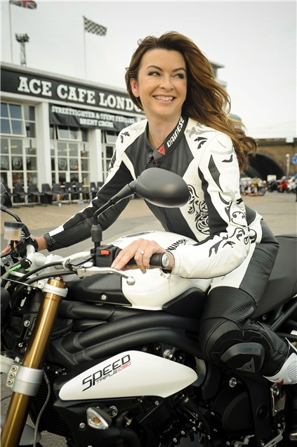 Suzi Perry warns bikers to protect their hearing