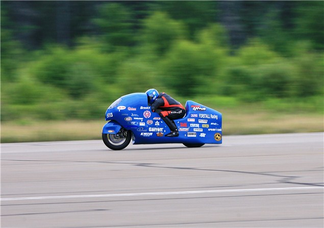 311mph: new motorcycle speed record