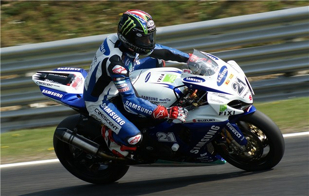 Hopkins gets to grips with Brands GP