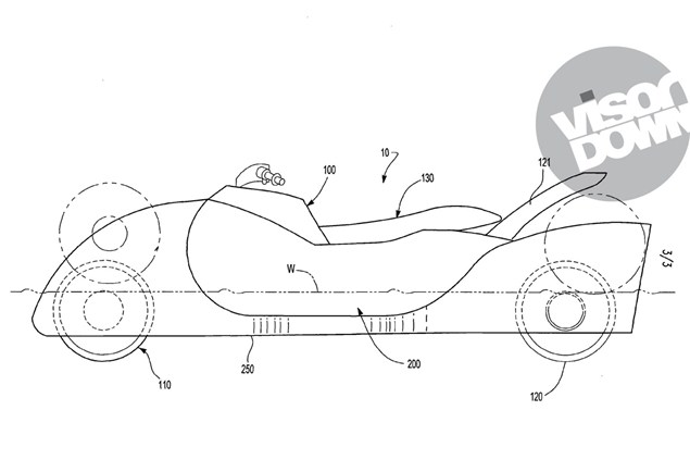 A road-going jet ski motorcycle?