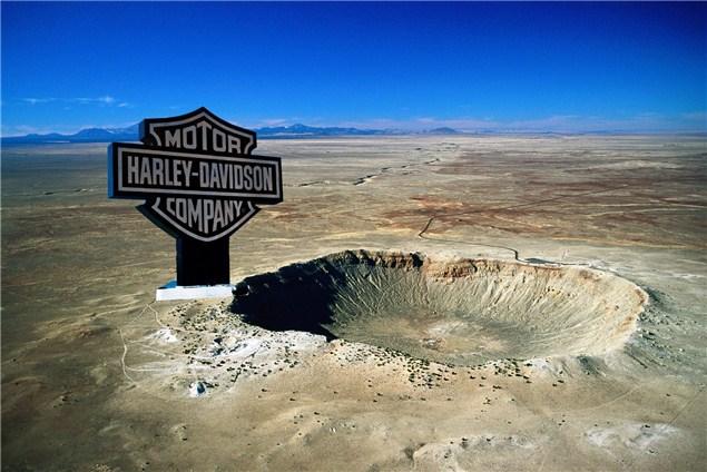 Man swaps meteorite for a Harley