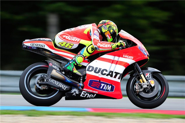 Beam frame imminent for Rossi's Ducati?