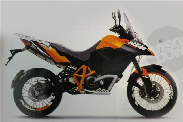 Is this the new KTM Adventure?